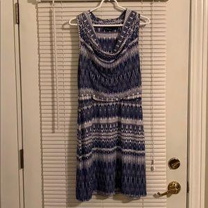 Beautiful Cynthia Rowley blue Large dress